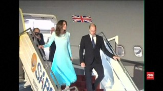 VIDEO: Pangeran William dan Kate Middleton Tur ke Pakistan