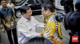 Prabowo & Airlangga Bertemu, Bahas Geopolitik hingga Ekonomi