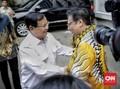 Airlangga Sambut Kedatangan Prabowo di DPP Golkar
