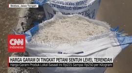 VIDEO: Harga Garam Sentuh Level Terendah