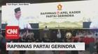 VIDEO: Pidato Prabowo di Rapimnas Partai Gerindra