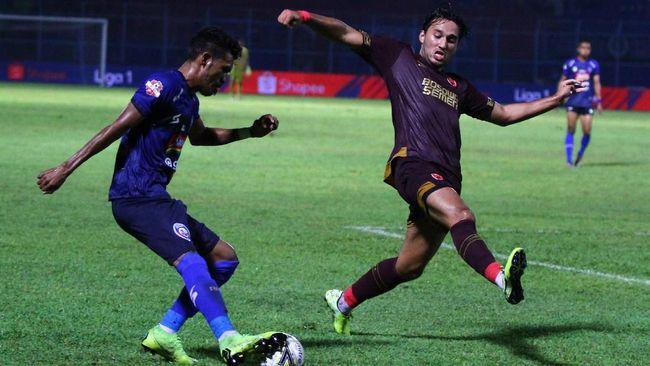 PSM Makassar meraih kemenangan 6-2 atas Arema FC dalam lanjutan Liga 1 2019 yang berlangsung di Stadion Andi Mattalatta, Rabu (16/10) malam WIB.