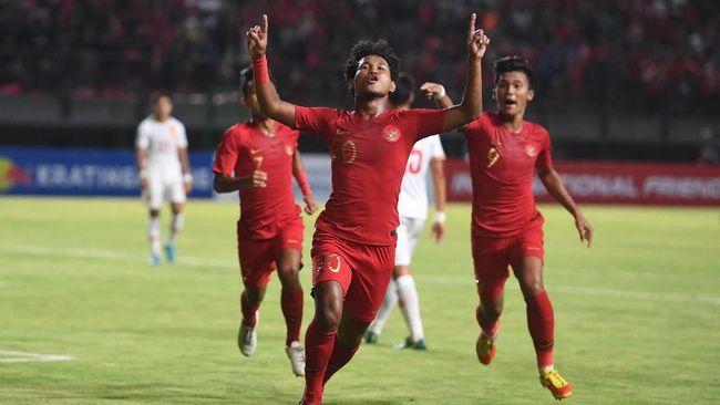 Timnas Indonesia U-19 tampil impresif dengan mengalahkan China 3-1 pada laga uji coba yang digelar di Stadion Gelora Bung Tomo, Surabaya, Kamis (17/10).