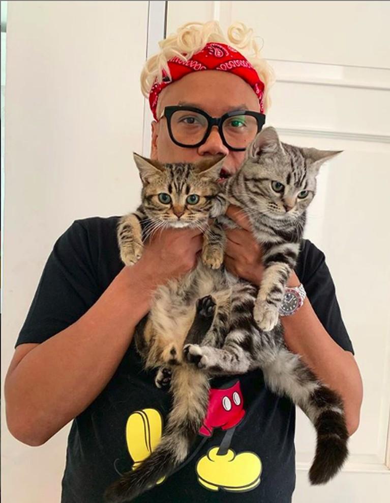 Uya Kuya juga seorang pecinta kucing. Saking suka dan sayang dengan kucing-kucingnya, Uya sampai membuat rumah khusus untuk binatang kesayangannya.