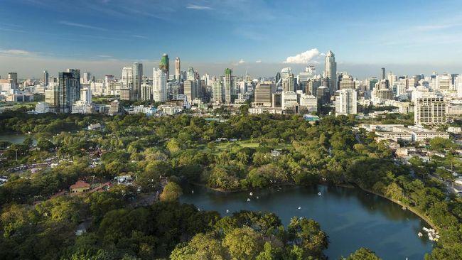Kota-kota modern di dunia tak melupakan keberadaan taman, sehingga warganya bisa beraktifitas di luar ruang dengan lebih nyaman.