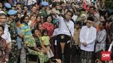 Jalan panjang ditempuh Joko Widodo dan Ma'ruf Amin sebelum terpilih jadi presiden-wapres terpilih, dimulai dari pendaftaran hingga kampanye dan gugatan di MK.