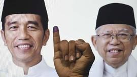 FOTO: Karpet Merah nan Berliku untuk Jokowi-Ma'ruf Amin