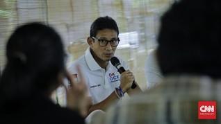 'Rayuan' PPP ke Sandiaga di Tengah Kemesraan PDIP-Gerindra