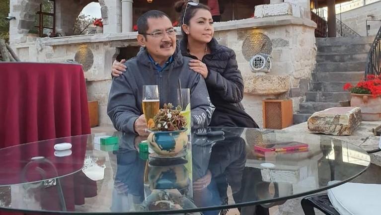 Mayangsari membagikan momen liburan mewahnya bersama keluarga di akun pun Instagram miliknya.