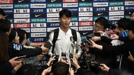 Son Heung Min Dijadwalkan Wamil Empat Pekan Mulai 20 April
