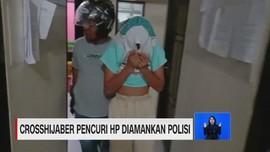 VIDEO: Cross Hijabers Curi HP Diamankan Polisi