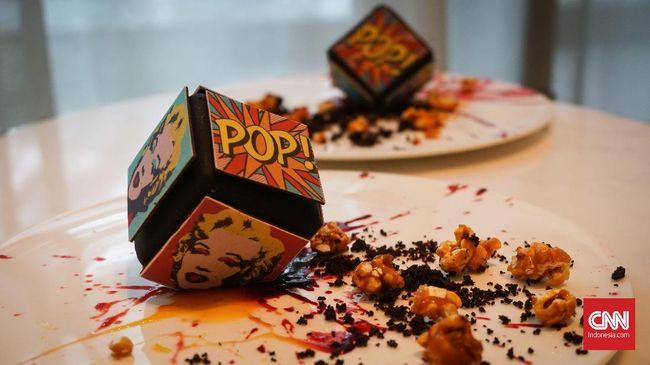 Andy Warhol tak hanya menginspirasi karya seni pop art, tapi juga dessert. Kalau tak percaya, tengok saja cube cake cantik Andy Warhol yang instagramable ini.