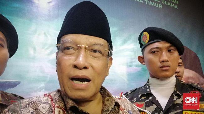 GP Ansor, organisasi terafiliasi dengan PBNU menyebut Said Aqil seharusnya meneladi Hasyim Muzadi yang membuka diri terhadap regenerasi di PBNU.