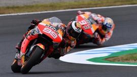 Senggolan, Marquez-Lorenzo Cekcok di FP2 MotoGP Australia