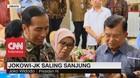 VIDEO: Jokowi-JK Saling Sanjung