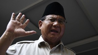 Prabowo Beber Arahan Jokowi soal Alutsista Rp1,7 Kuadriliun