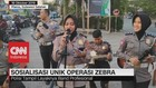 VIDEO: Sosialisasi Unik Operasi Zebra