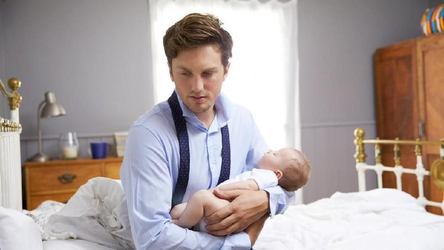Cerita Ayah Kena Baby Blues, Muak Dengar Tangis Istri