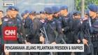 VIDEO: 3000 Aparat Gabungan Amankan Pelantikan Presiden