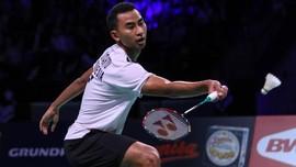Hasil Denmark Open: Tommy Sugiarto ke Semifinal