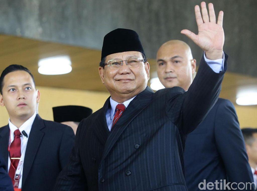 Prabowo Hingga Grace Natalie di Karpet Merah Pelantikan Presiden