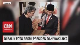 VIDEO: Di Balik Foto Resmi Presiden & Wakilnya