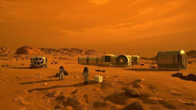 Misi manusia mendarat di Mars