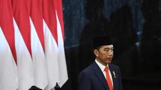 Jokowi Targetkan PDB RI Naik Jadi US$7 T pada 2045