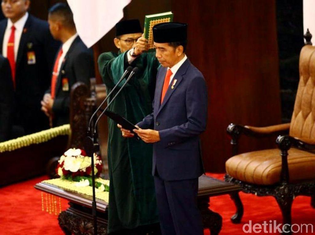 Jokowi-Ma'ruf Resmi Jadi Presiden dan Wakil Presiden