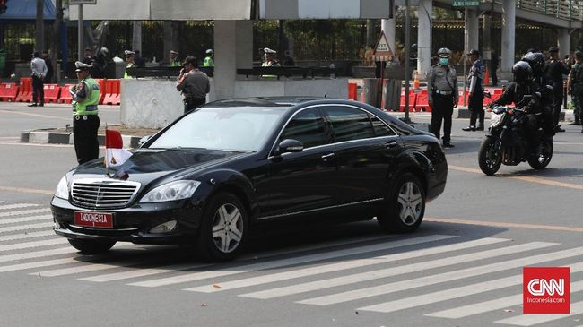 Cerita Tantangan 'Luar Biasa' Jadi Sopir Mobil Dinas Jokowi