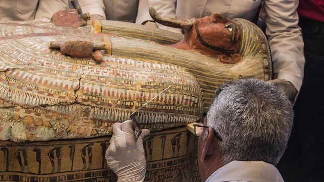Ilmuwan Ungkap Misteri Pembunuhan Firaun Pakai CT