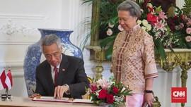 Istri PM Singapura Pensiun dari Kursi Bos Temasek per Oktober