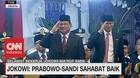 VIDEO: Jokowi: Prabowo-Sandi Sahabat Baik Saya