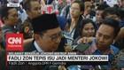 VIDEO: Fadli Zon Tepis Isu Jadi Menteri Jokowi