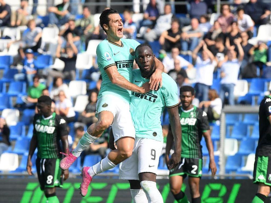Inter vs Sassuolo Pesta Gol di Mapei