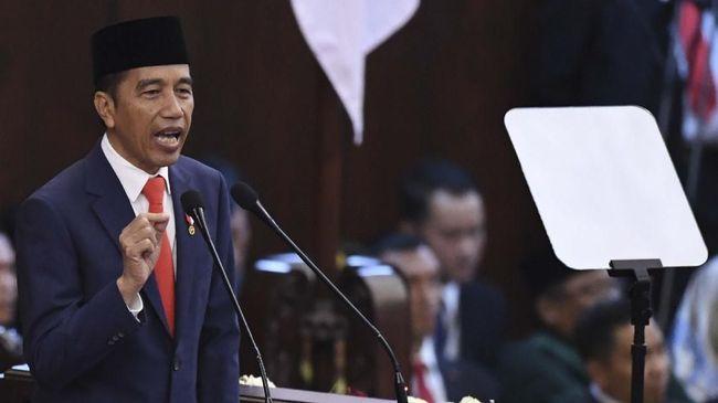 Presiden Jokowi menyatakan sumpah pemuda pada 91 tahun lalu tetap menggema sampai hari ini. Menurutnya, Indonesia akan menjadi negara maju di tangan pemuda.