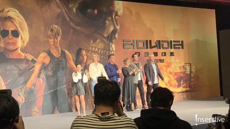 Korea Selatan dipilih untuk menjadi tempat pertama promosi film Film Terminator: Dark Fate di Asia, Senin (21/10).