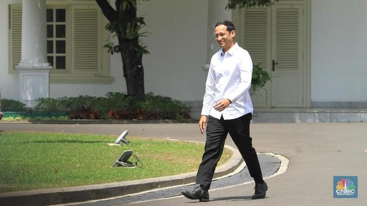 Nadiem Makarim (CNBC Indonesia/Tri Susilo).