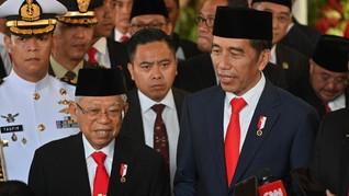 Jokowi Tunjuk Ma'ruf Pimpin Tim Percepatan Pembangunan Papua