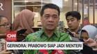 VIDEO: Prabowo Siap Jadi Menteri
