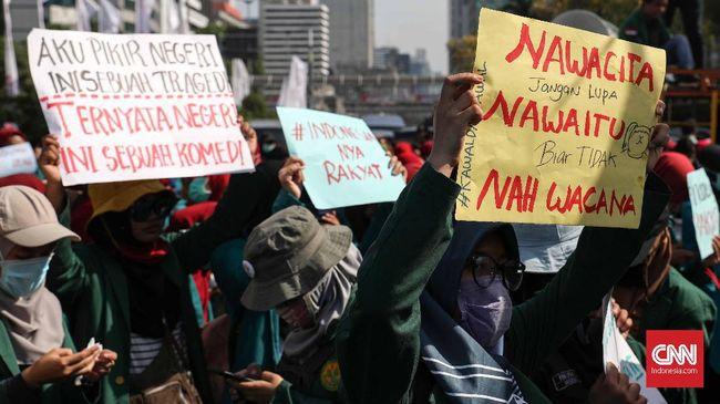 Mahasiswa Kembali Demo Jokowi Singgung Pelanggaran Ham