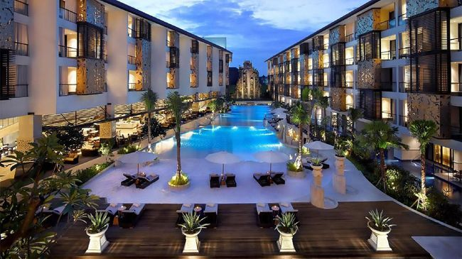Tahun ini The Trans Resort Bali menerima penghargaan sebagai hotel terbaik untuk yang ketiga kalinya.