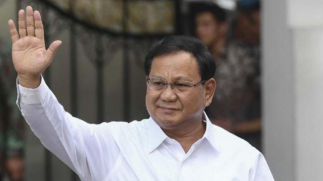 Ketum Gerindra Prabowo Subianto, meyakini demo tolak ciptaker karena ada yang ingin menciptakan kekacauan. Dia meyakini itu berasal dari kekuatan luar negeri.