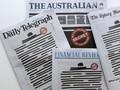Protes Pembatasan Informasi, Koran Australia Dihitamkan