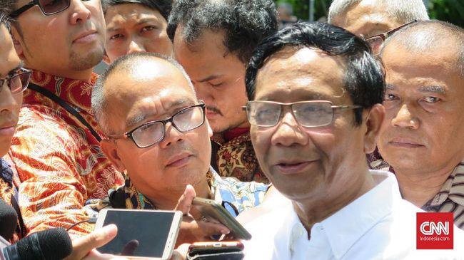Mahfud MD menyebut Presiden Jokowi sangat memperhatikan penegakan hukum dan memiliki data yang detail soal korupsi di Indonesia.