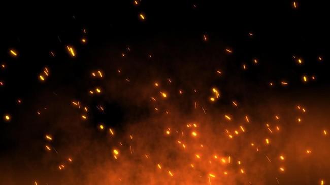 Truk di Dalam Kapal Terbakar di Bakauheni, Penumpang Panik