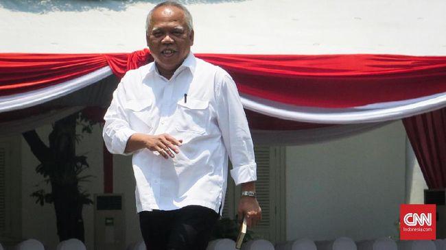 Jokowi kembali kembali menunjuk Basuki Hadimuljono menjadi menteri Pekerjaan Umum dan Perumahan Rakyat.