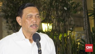 Luhut Sebut OTT KPK Tak Buat Orang Kapok Jadi Koruptor