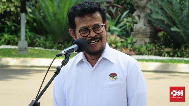 Mensesneg Pratikno menyatakan posisi sementara Menteri KKP dialihkan ke Mentan Syahrul karena Menko Luhut dinas ke luar negeri.
