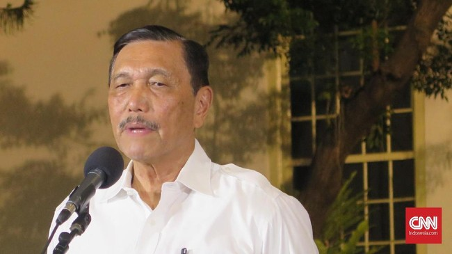 Jokowi Tunjuk Luhut Jadi Ketua Tim Gernas Bangga Buatan RI